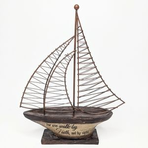 Breakwater Bay Sailboat Sculpture Nautical